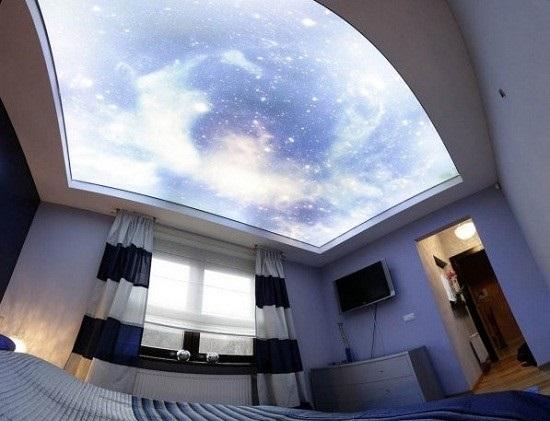 Profi ceiling spanndecken hersteller spanndecke bedruckt for Lichtleiste deckenbeleuchtung